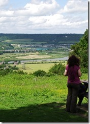 Front Cover Overlooking the Medway Valley