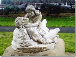 s Statue of Edith Swanneck and Harold in West St Leonards Gardens although, from certain angles, she does appear to be strangling poor Harold!
