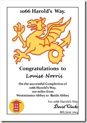 Certificate - Dragon Louise