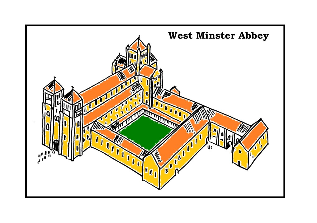 a Westminster Abbey Drawing HR