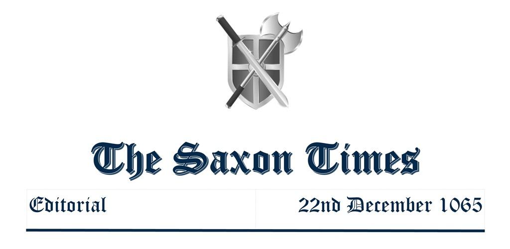 Saxon Times 22 Dec 1065