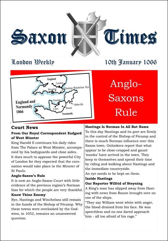 Saxon Times Jan 10 1066