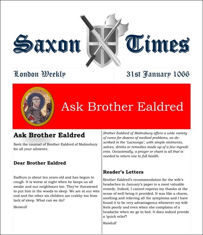 Saxon Times Jan 31 1066 v2