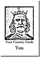 b Your Country Needs You HR