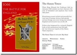 Saxon Times 1066 web