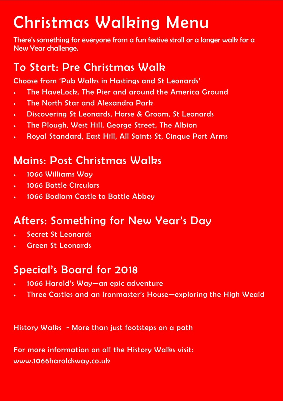 Christmas Walking Menu v2