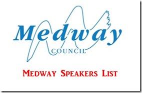 Medway Speakers List