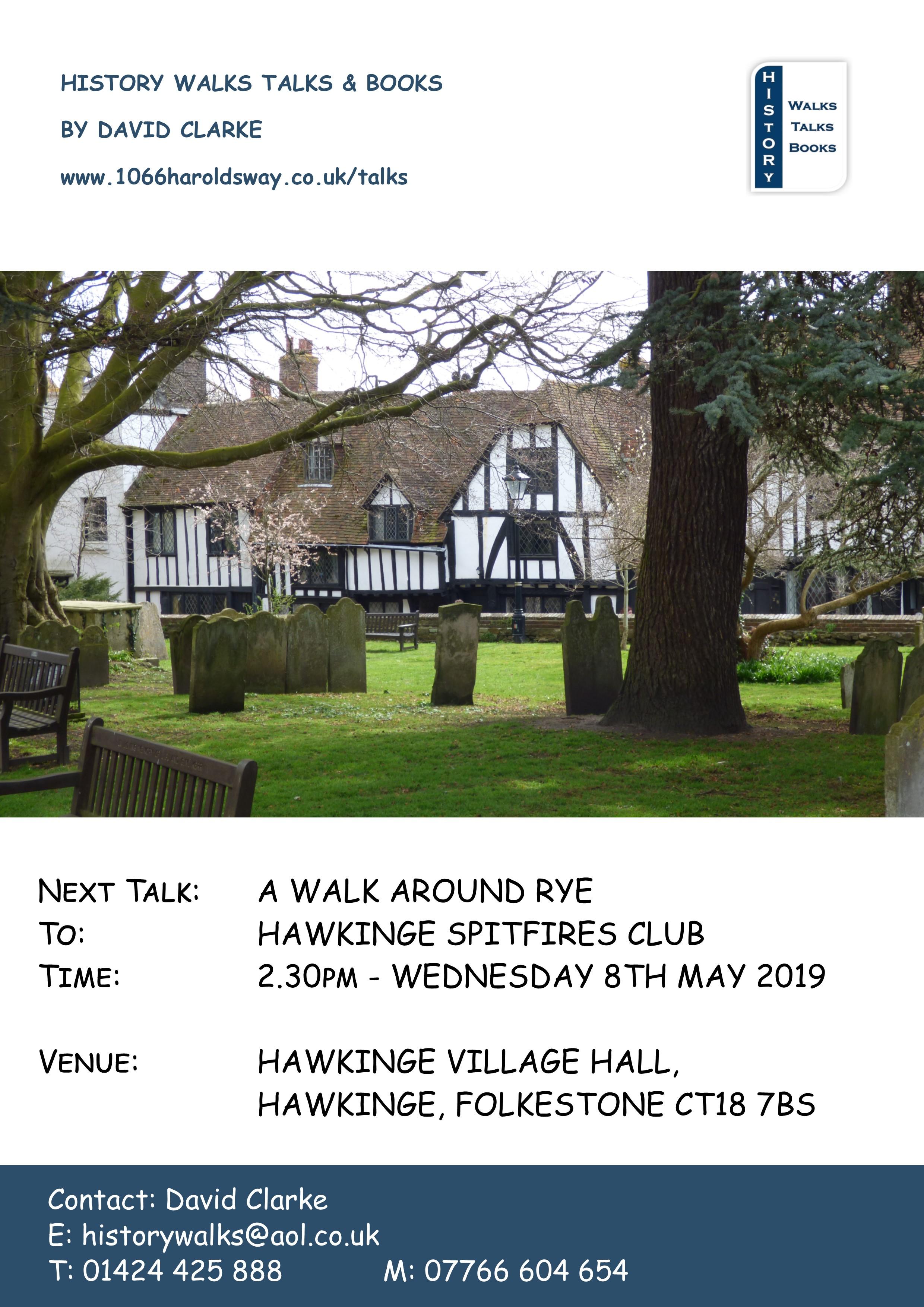 2019 A Walk around Rye Hawkinge