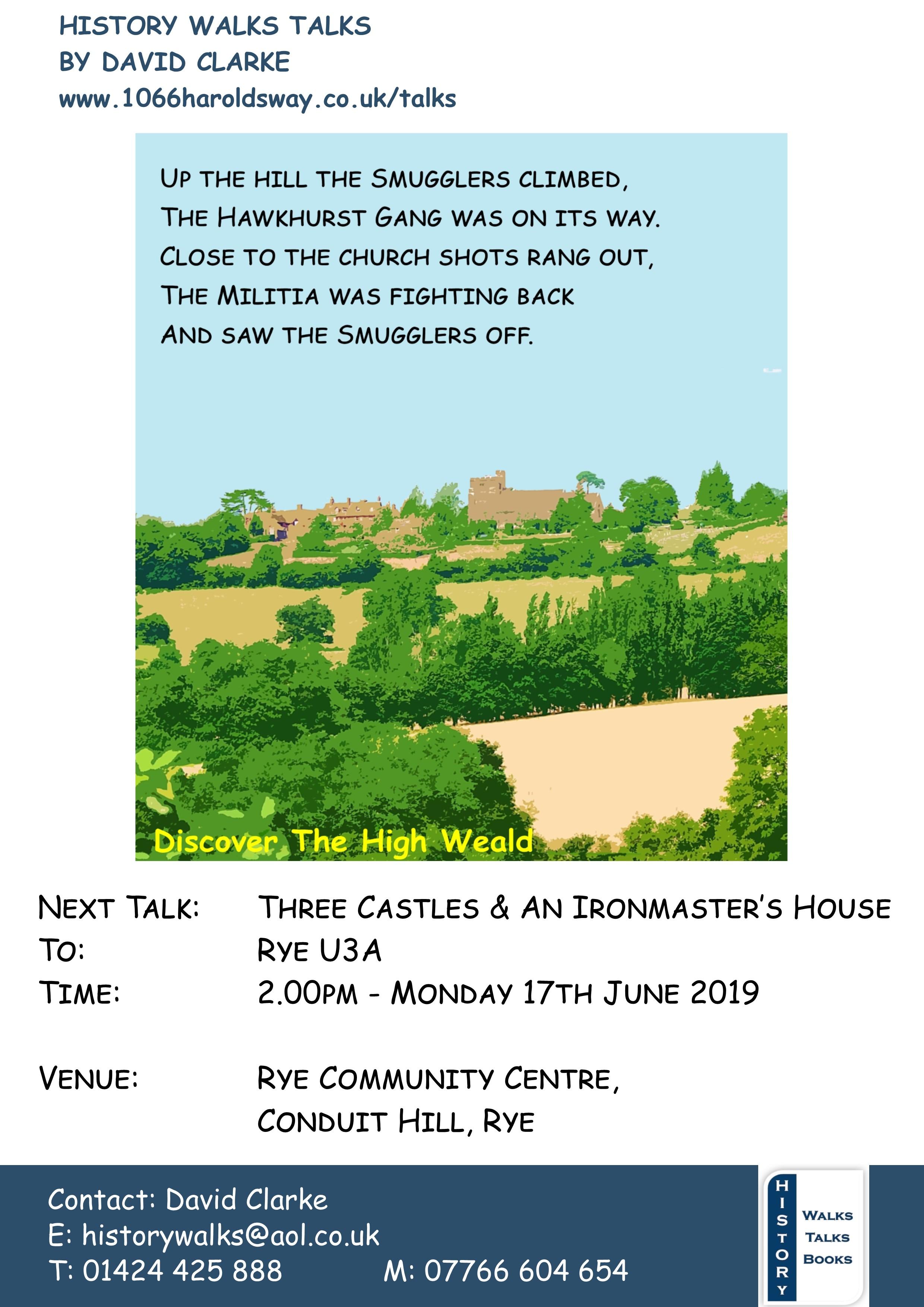 3 Castles Rye U3A